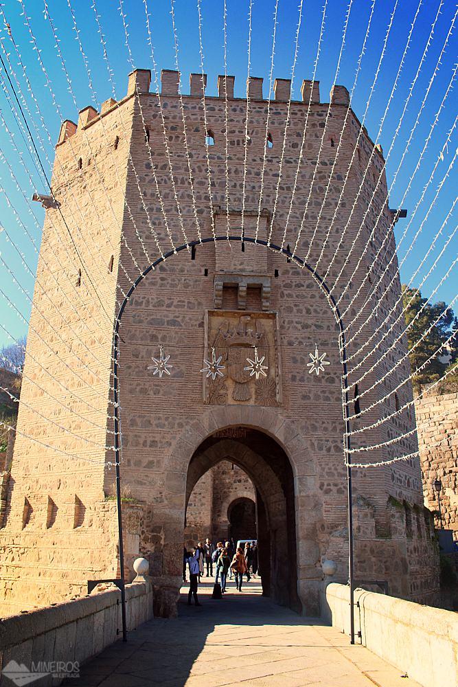 Puerta de Alcántara Toledo Espanha