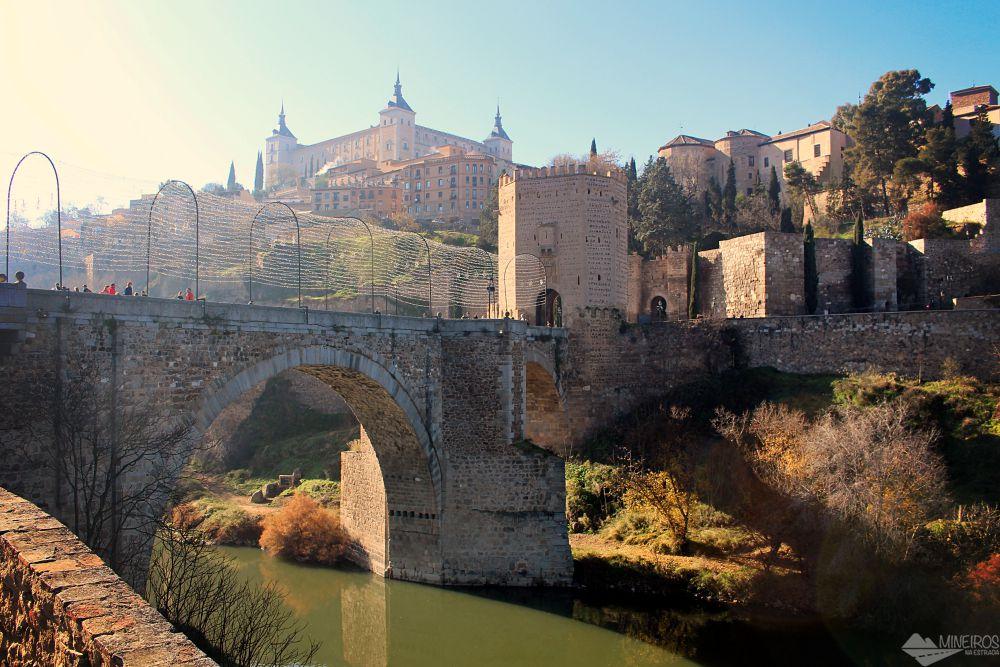 Puente de Alcantara Toledo Esoanha