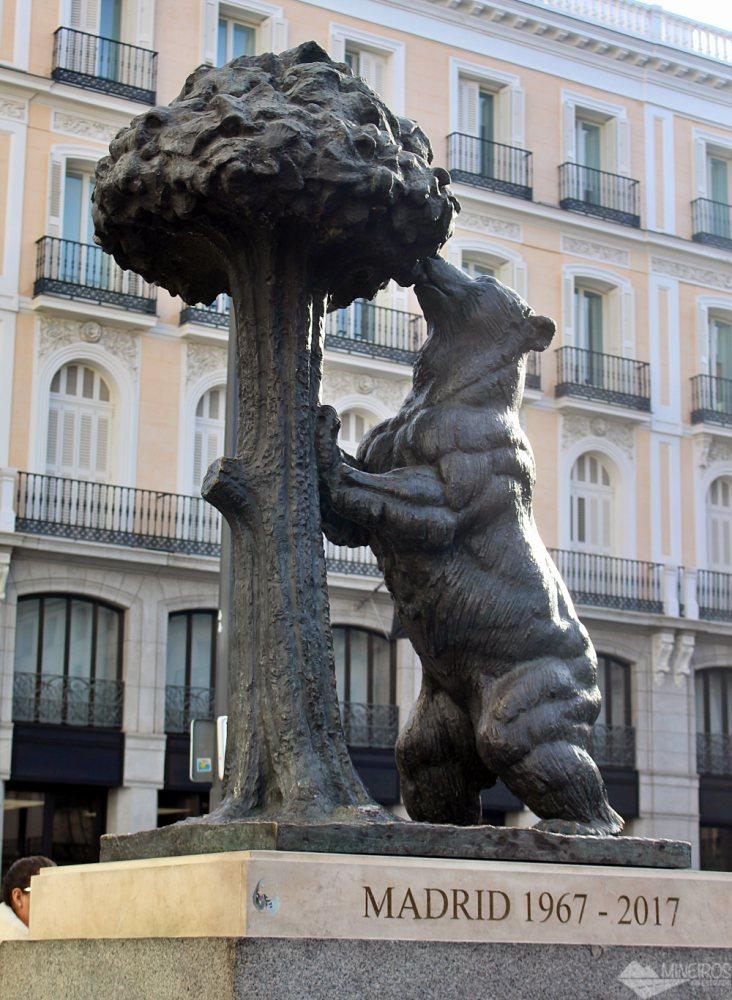 Estátua O Urso e o Madronheiro, símbolo de Madri