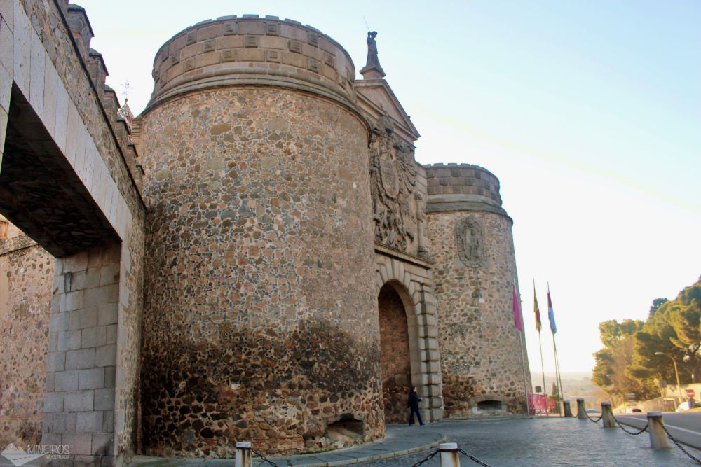 Puerta de Bisagra Toledo Espanha