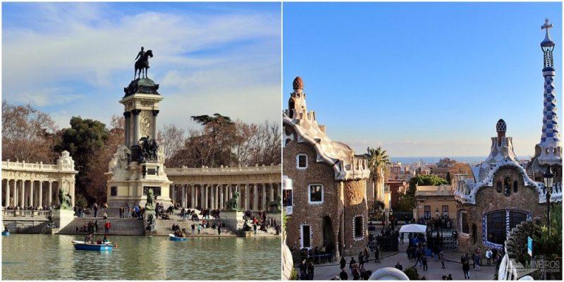 Como é viajar de ônibus de Madri a Barcelona