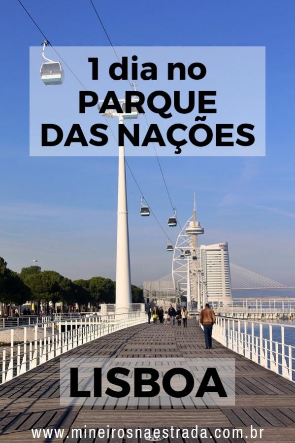 O Parque das Nações é uma área moderna de Lisboa, onde estão localizados o Oceanário, museus e o teleférico.