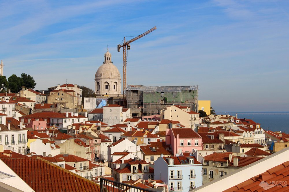 Miradouro de Santa Luzia Lisboa