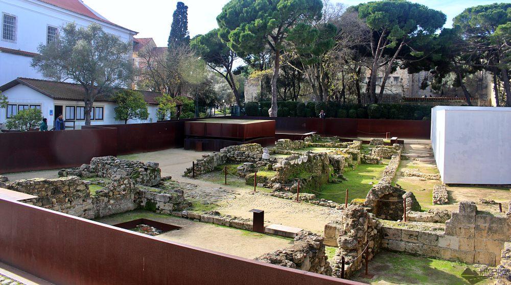 Sítio Arqueológico - Castelo de São Jorge Lisboa