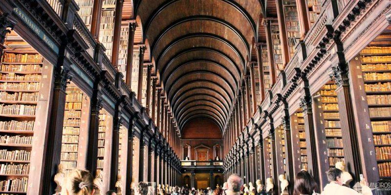 Dublin: A sensacional biblioteca da Trinity College e o lendário Livro de Kells