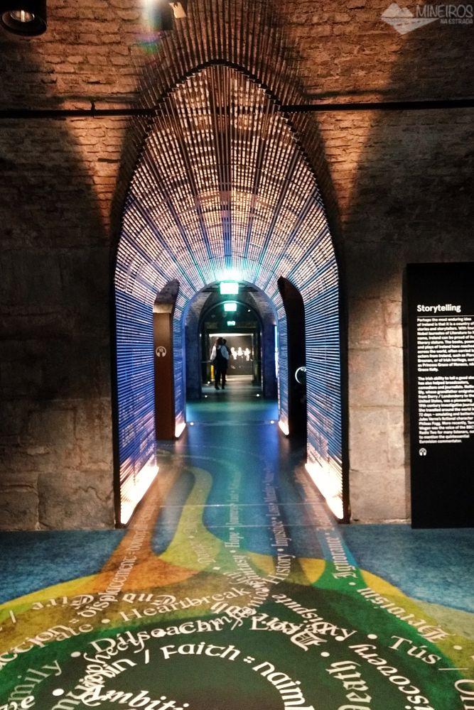 Como é visitar o EPIC Museum em Dublin, um museu totalmente interativo dedicado às causas e consequências da emigração irlandesa.