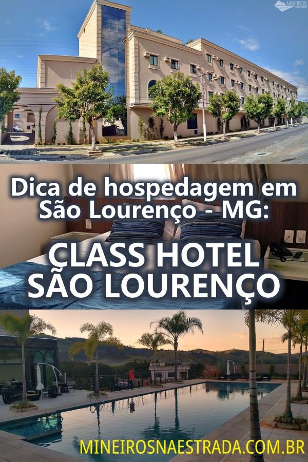 O Class Hotel São Lourenço (MG) é um hotel com ótimo custo-benefício. Possui confortáveis instalações e farto café da manhã a um ótimo preço.