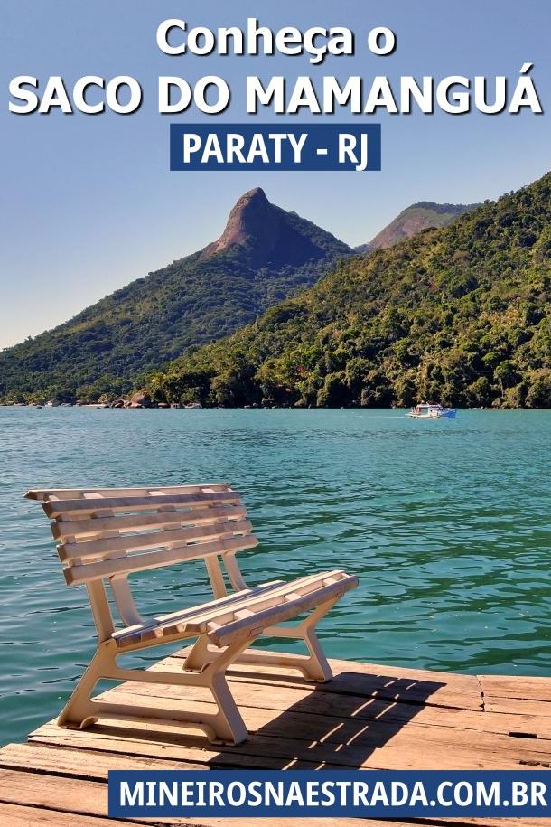 Saco do Mamanguá é um braço de mar com 8 km de extensão e natureza incrível e preservada, no município de Paraty (RJ).