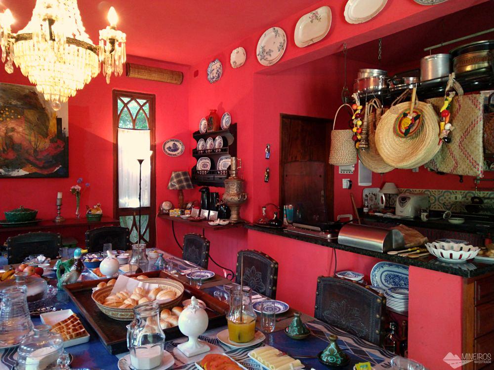 café da manhã da Casa da Vila Moura