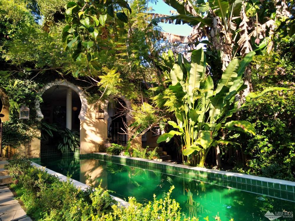 piscina da Casa da Vila Moura, pousada em Paraty.