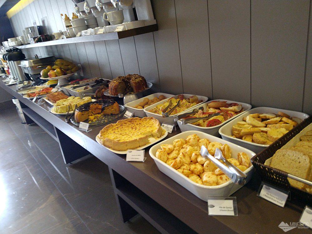 Café da manhã do Class Hotel