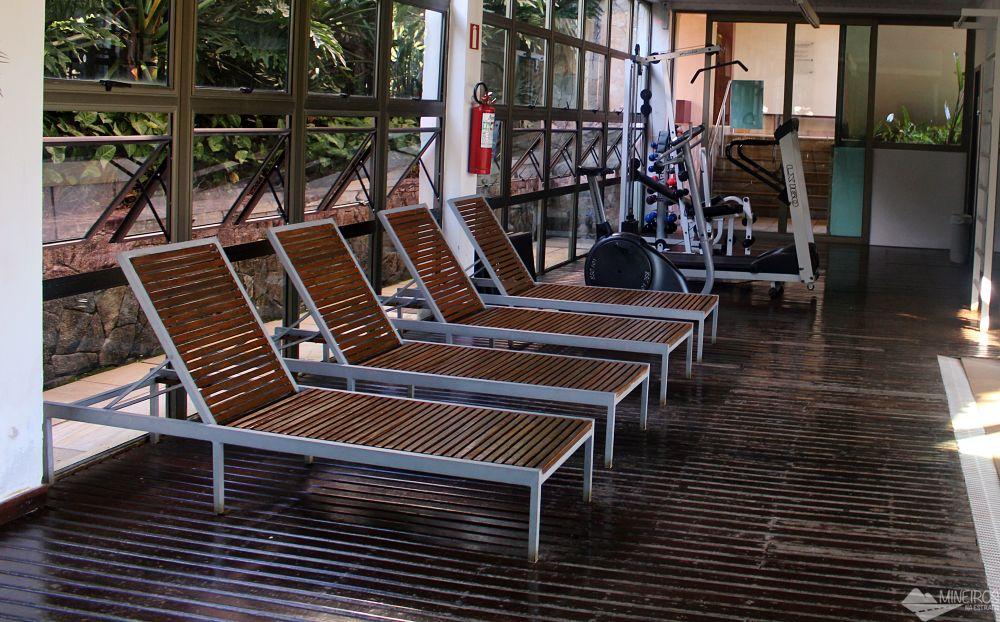 Área fitness do Garden Hill Hotel e Golfe - São João del Rei
