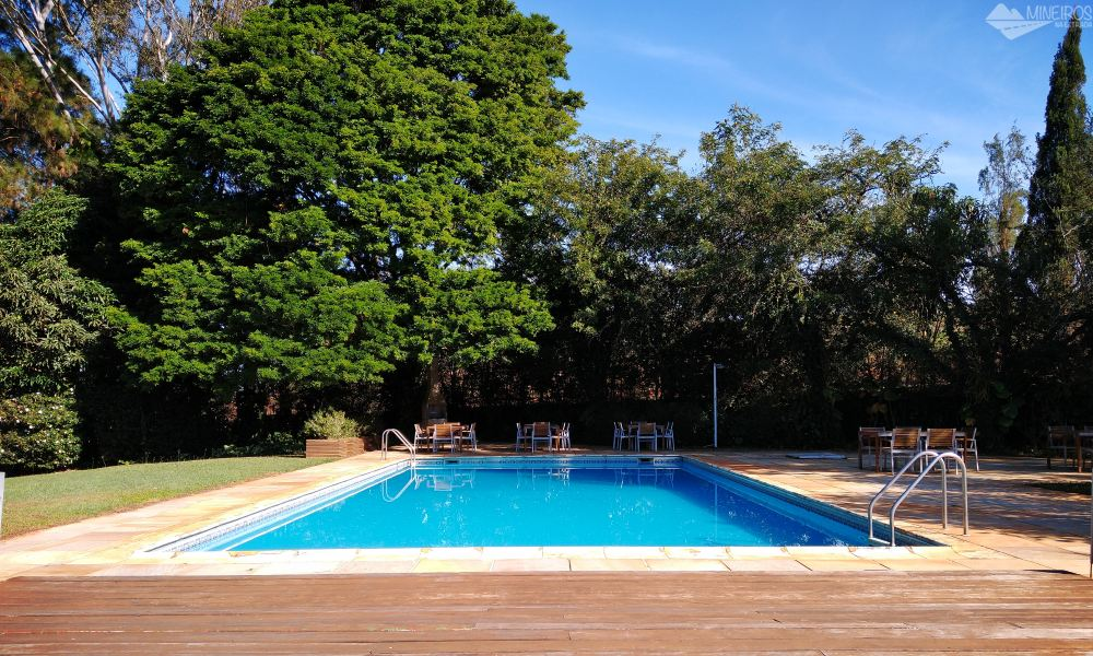 Piscina do Garden Hill Hotel e Golfe - São João del Rei