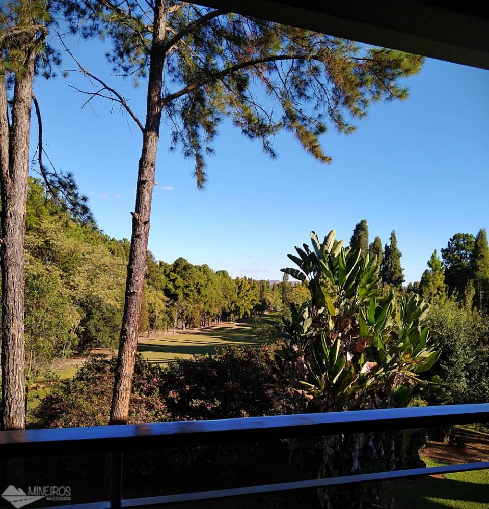 Vista da varanda  do quarto do Garden Hill Hotel e Golfe - São João del Rei