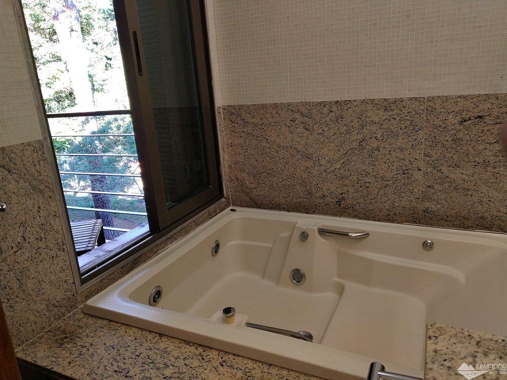 Banheiro do Garden Hill Hotel e Golfe - São João del Rei