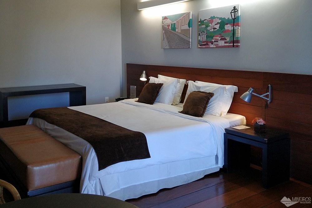 Quarto do Garden Hill Hotel e Golfe - São João del Rei