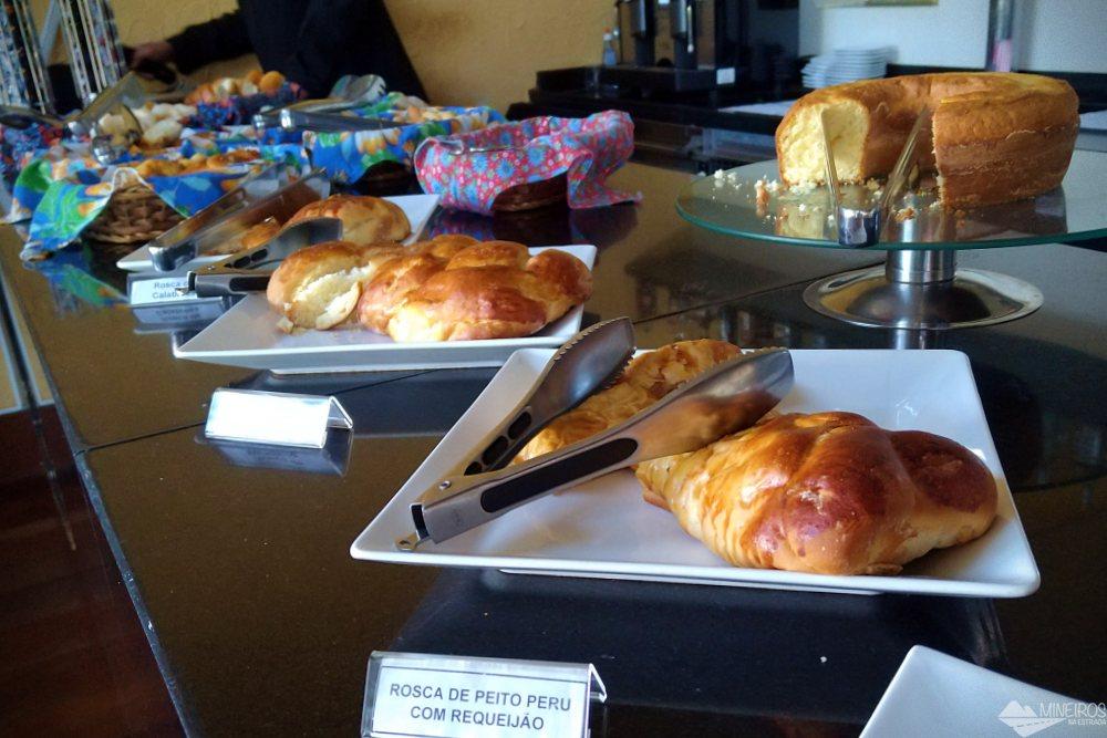 Café da manhã do Garden Hill Hotel e Golfe - São João del Rei