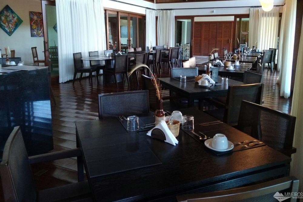 Restaurante do Garden Hill Hotel e Golfe - São João del Rei