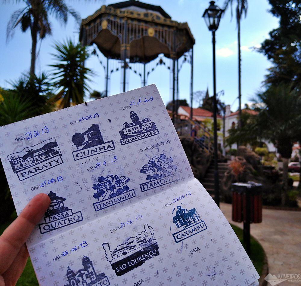 Passaporte da Estrada Real em Caxambu