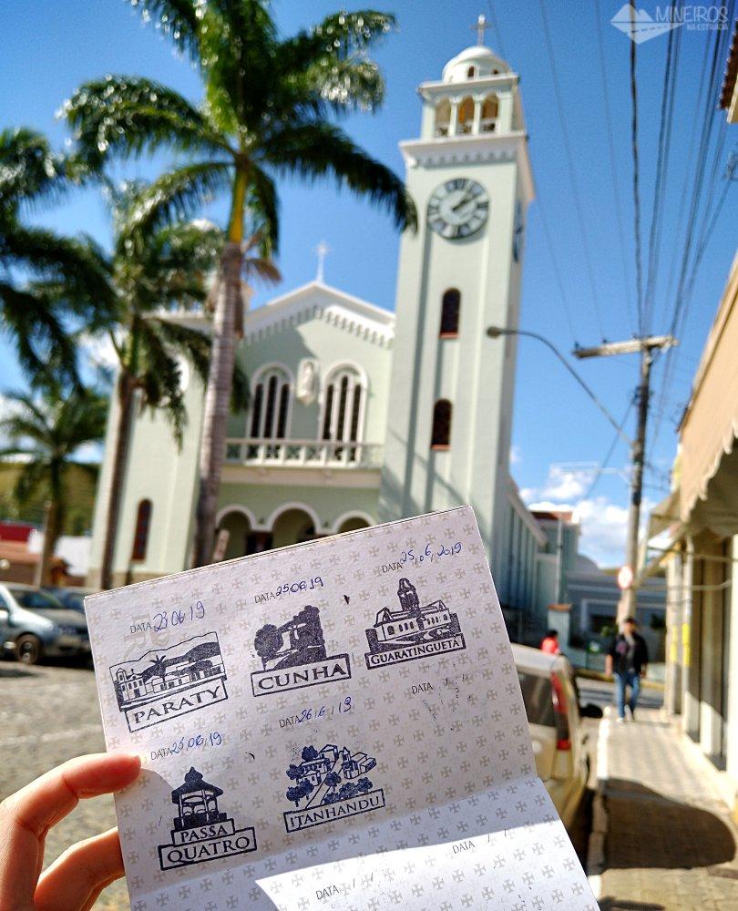 Passaporte da Estrada Real em Itanhandu