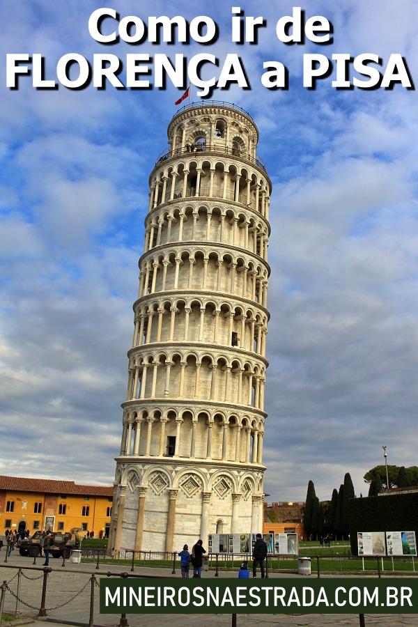 Aproveite a estadia em Florença para um bate-volta para a torre mais famosa do mundo. Veja como ir de Florença a Pisa de trem.