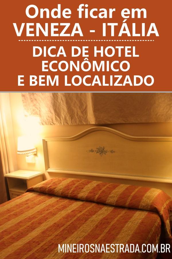 Procurando onde ficar em Veneza? Veja como foi nossa hospedagem no Ca'Pedrocchi, um hotel barato e com localização excelente!