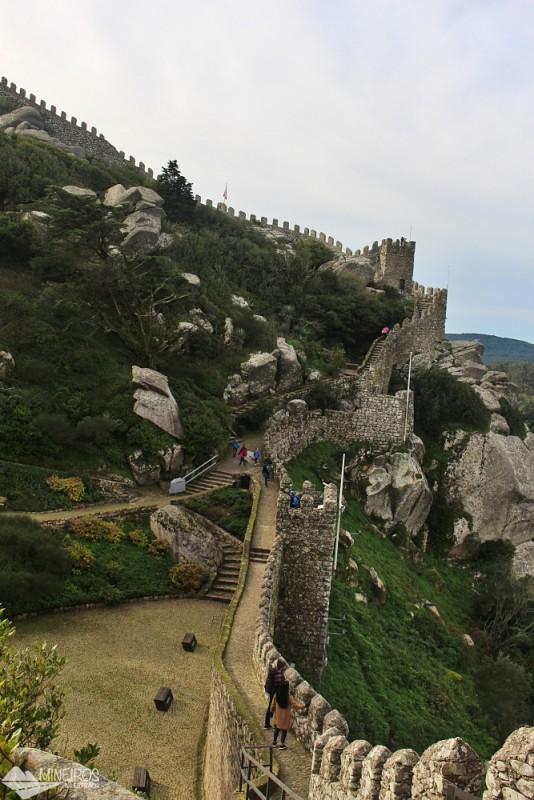 Castelo dos Mouros, em Sintra, Portugal