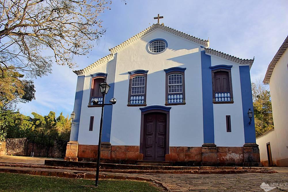 Igreja São João Evangelista, em  Tiradentes