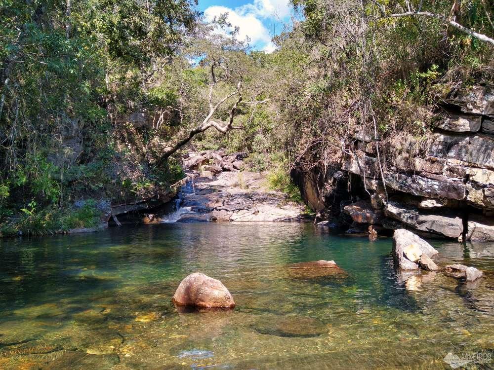 Cachoeira Lagoa Azul Carrancas