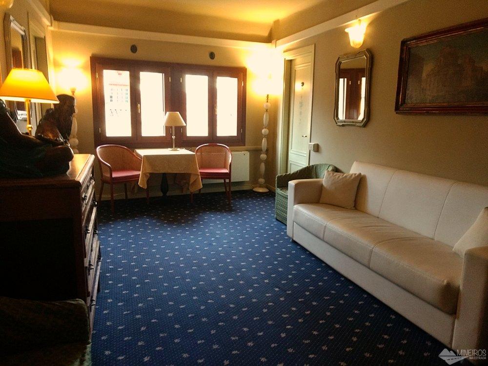 área comum do hotel ca pedrocchi