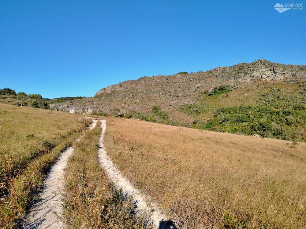 Carrancas trilha para Cachoeira Grande