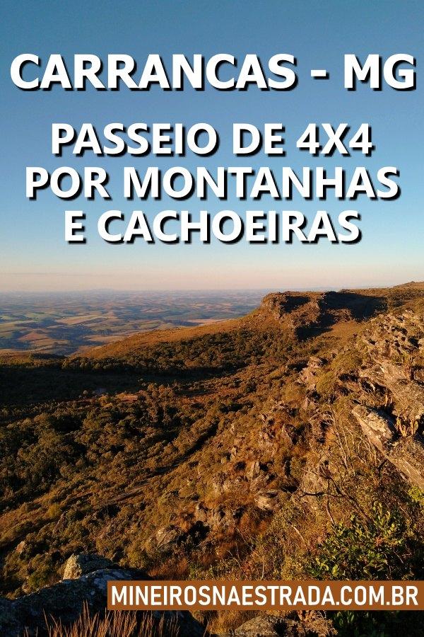 Carrancas é um município mineiro famoso por suas cachoeiras. Fizemos um passeio de 4x4 de mais de 10 horas de duração. Veja como foi.