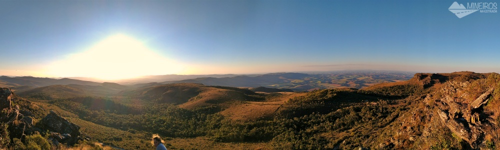Panorâmica do Pico do Abanador - Carrancas
