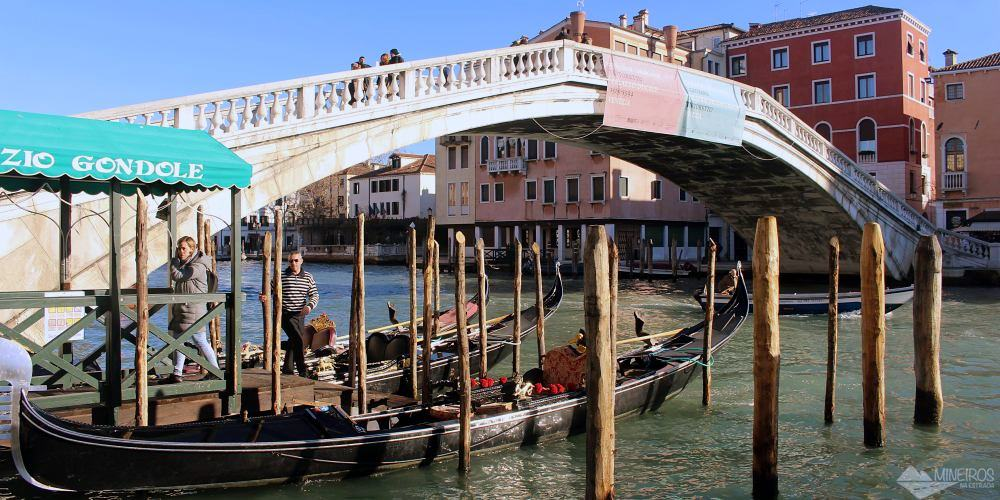 Ponte degli Scalzi Veneza