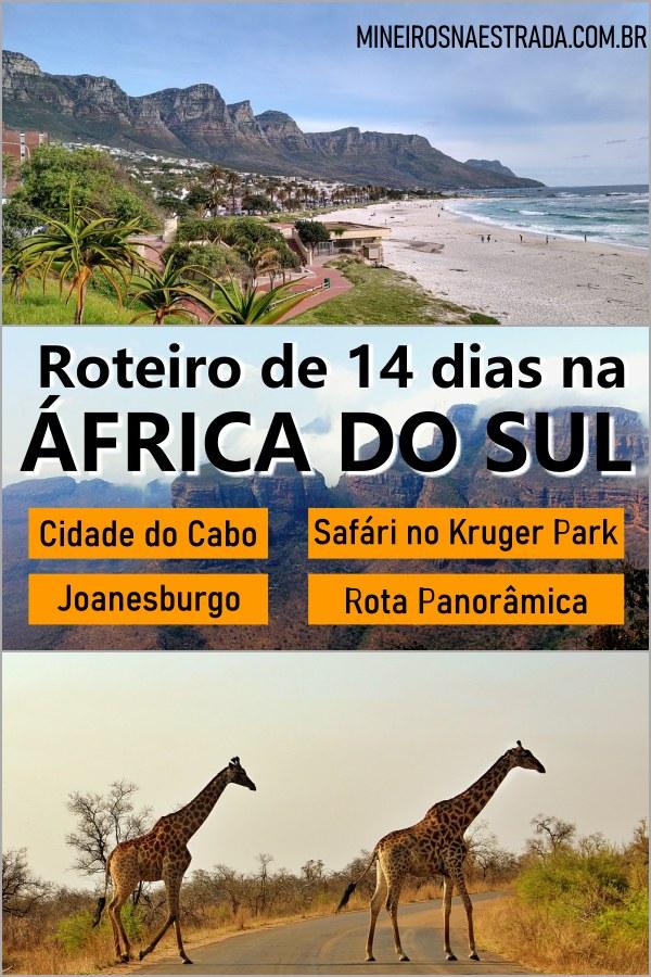 Procra o que fazer na África do Sul? Veja nosso roteiro de 14 dias por Cape Town, safár no Kruger Park, Joanesburgo e Rota Panorâmica.