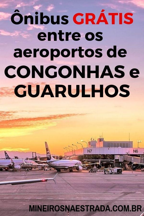 Sabia que as companhias aéreas oferecem um ônibus gratuito entre os aeroportos de Congonhas e Guarulhos? Veja como funciona o da Latam.
