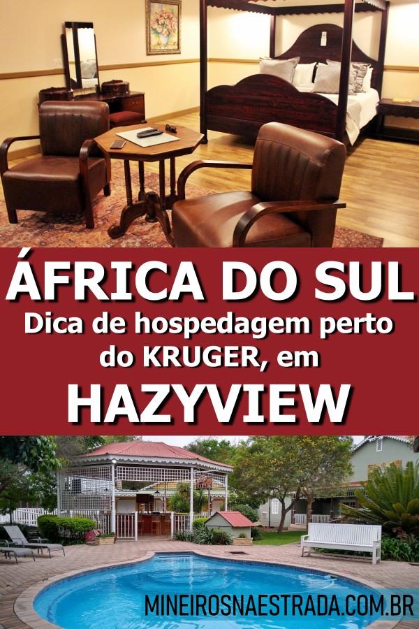 Buscando onde ficar em Hazyview? Se você vair ficar fora do Kruger Park, veja essa dica de hospedagem: o ótimo Little Pilgrims Boutique Hotel.