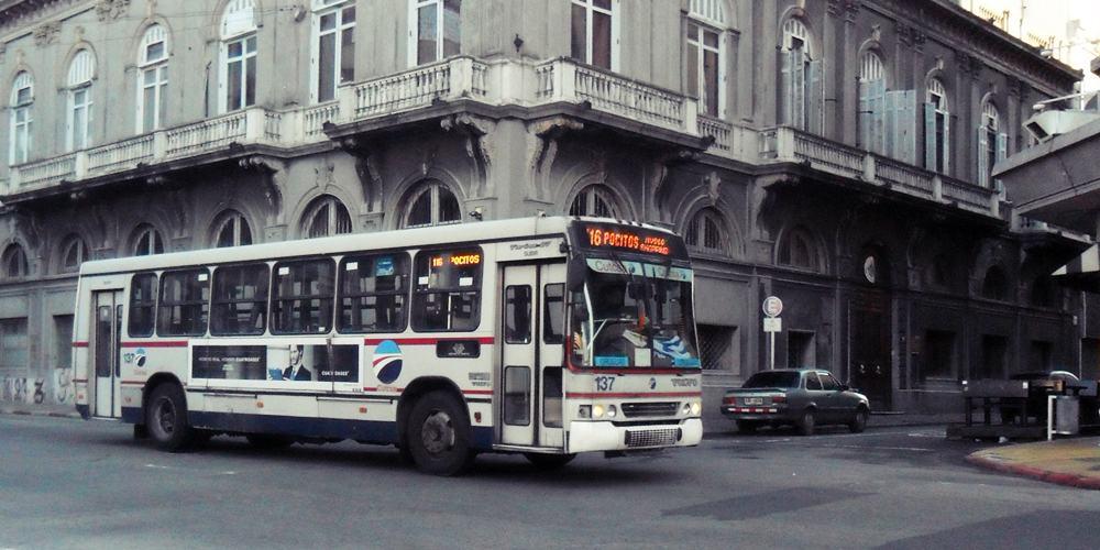 Como andar de ônibus em Montevidéu