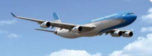 Como foi voar com Aerolineas Argentinas