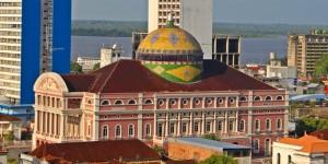 Manaus: visita guiada ao Teatro Amazonas