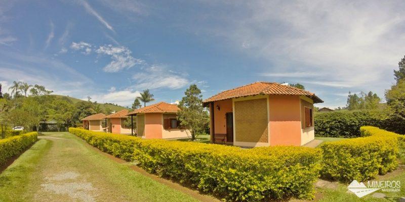 Pousada Vila Minas: chalés espaçosos em Itanhandu, sul de Minas