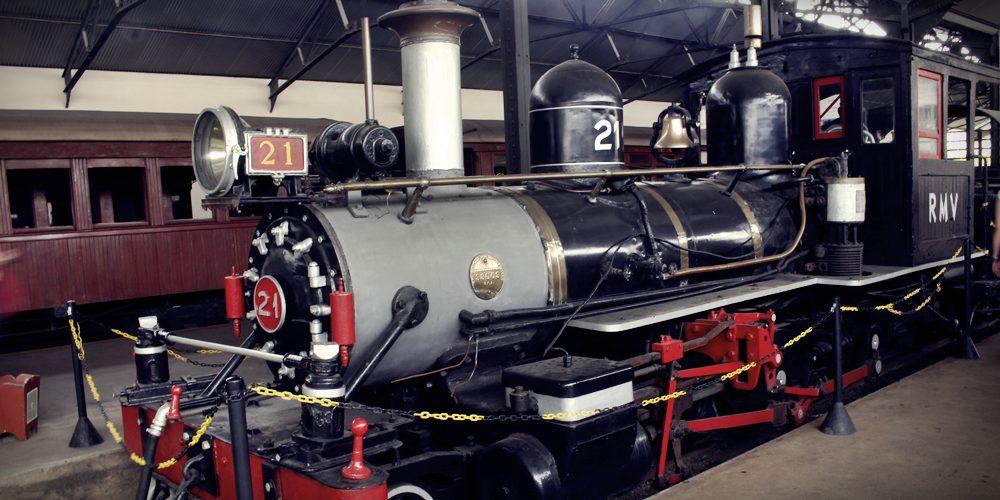 O Museu Ferroviário de São João del Rei