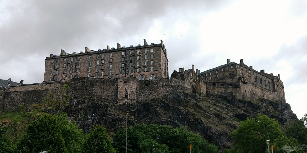 Castelo de Edimburgo, o cartão-postal da Escócia