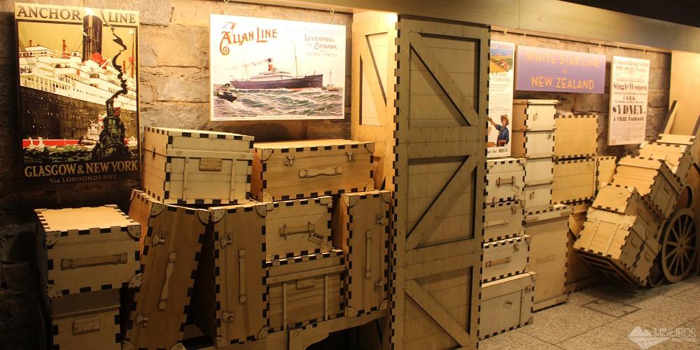EPIC Museum em Dublin: museu totalmente interativo dedicado à emigração irlandesa
