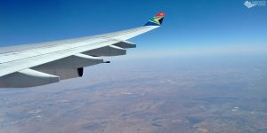 Como é voar com a South African Airways